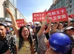 Qidong - wütende Bevölkerung treibt es auf die Straße